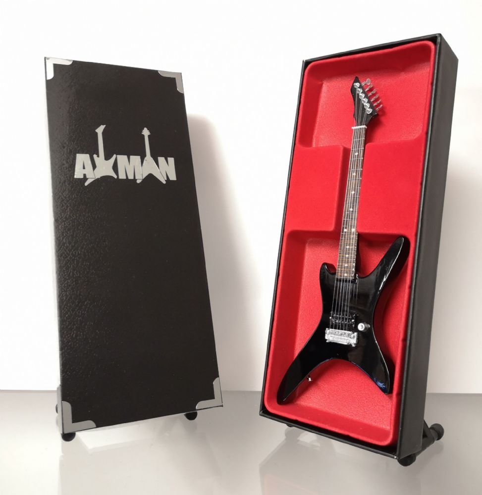 (Death) Chuck Schuldiner - B.C. Rich: Miniature Guitar Replica (UK Seller)
